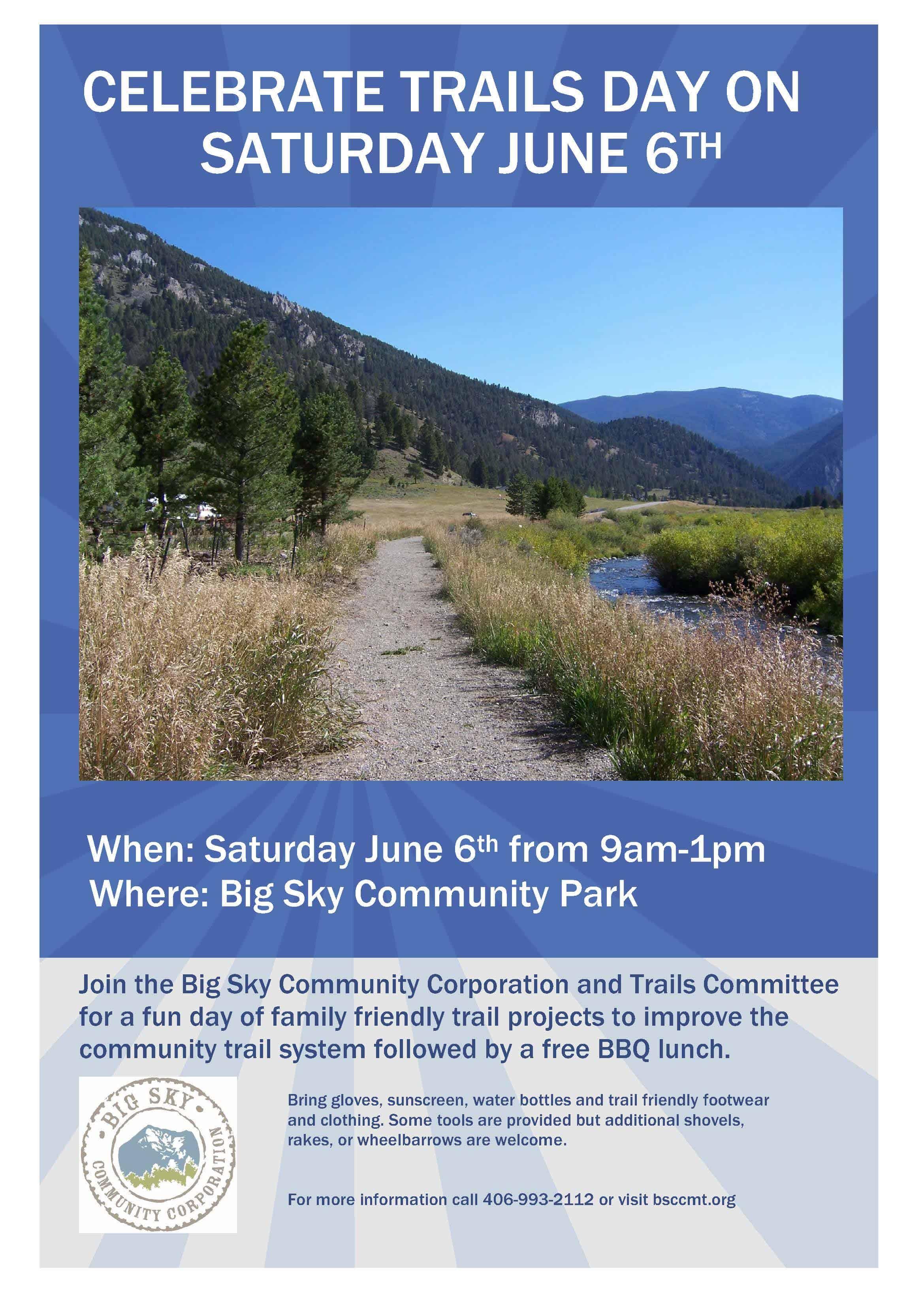 National Trails Day - Big Sky Community Organization